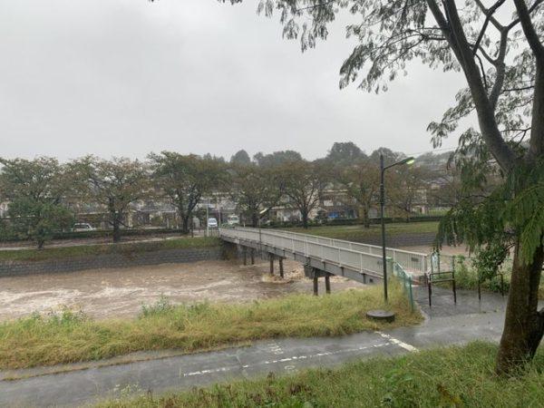浅川 氾濫